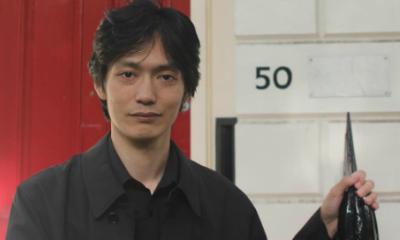 Translating Japanese poet Karan Kurose with Dr Alan Cummings