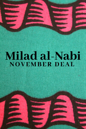 Milad al-Nabi (choose a free chapbook)