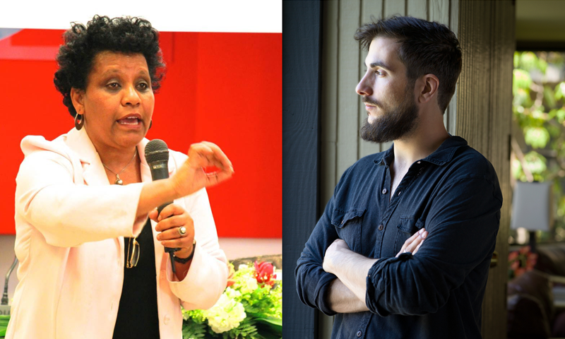 An Intimate Audience Online with Ribka Sibhatu and André Naffis-Sahely