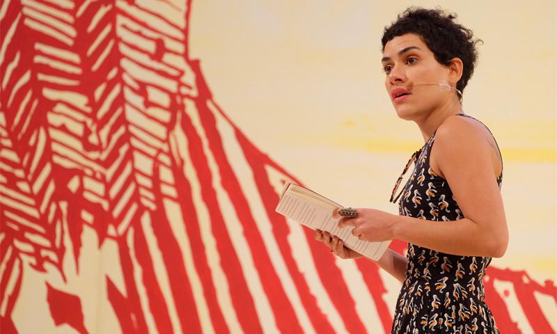 Adelaide Ivánova at Newcastle Poetry Festival