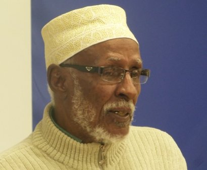 Hadraawi Reads at the Butetown History and Community Centre